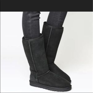 Ugg Black Ultimate Tall II Boots Size 8